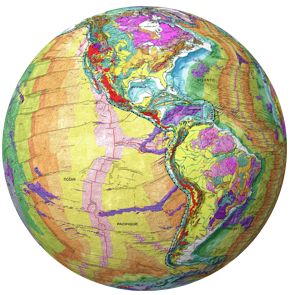 Geological Globe of the World Product Release
